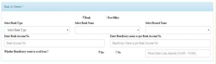 Pradhan Mantri Awas Gramin Beneficiary Account Details