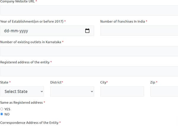 Samruddhi Yojana Application form
