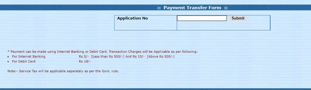 UP Caste Certificate Online Payment