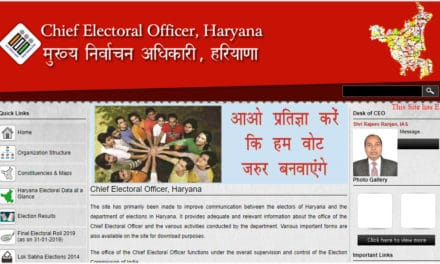 CEO Haryana Voter List, Haryana Lok Sabha 2019 Voter List PDF
