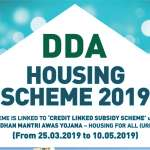DDA Housing Scheme 2019 – 18,000 flats in Vasant Kunj and Narela