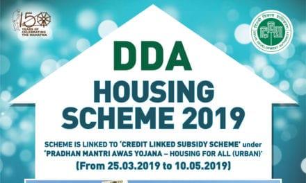DDA Housing Scheme 2019 – 18,000 flats in Vasant Kunj and Narela