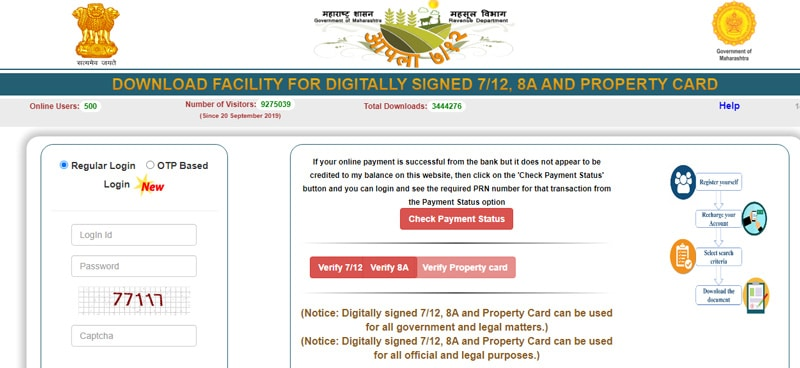 Digital Signed 7 12 8A and Property Card