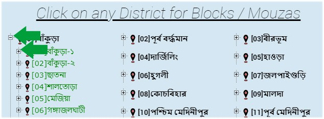 Mozas Informations Banglarbhumi West Bengal popup