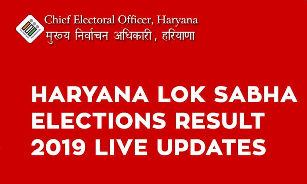 Haryana Lok Sabha Elections Result 2019 Live Updates - Candidate