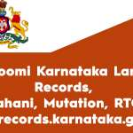 Bhoomi Karnataka Land Records, Pahani, Mutation, RTC, and Landrecords Karnataka