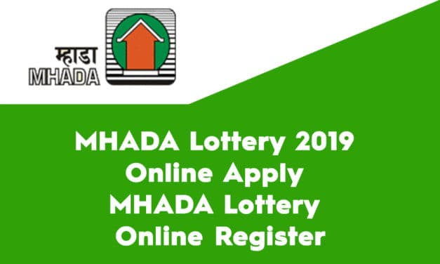 MHADA Lottery 2019 Online Apply – MHADA Lottery Online Register