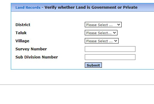TN Verify Government or Private Land