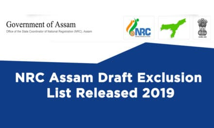 NRC Assam Draft Exclusion List Released 2019