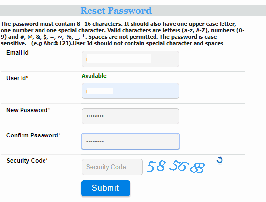 Shram Suvidha Owner Change Password