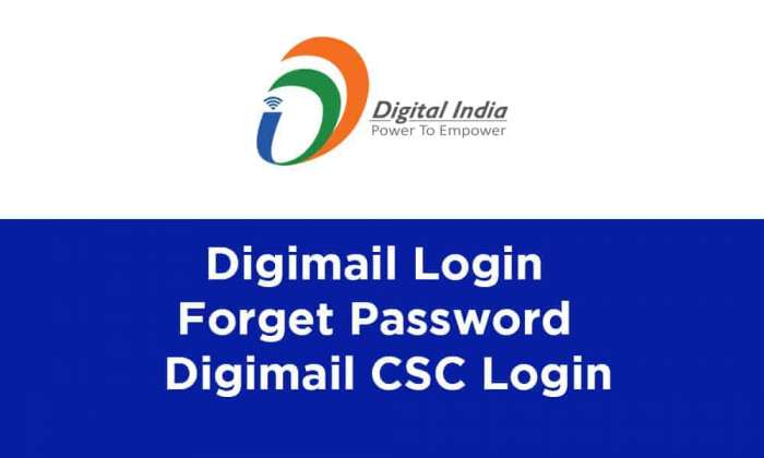 Digimail Login Forget Password Digimail CSC Login