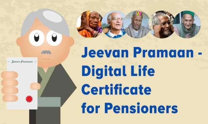 Jeevan Pramaan Digital Life Certificate for Pensioners