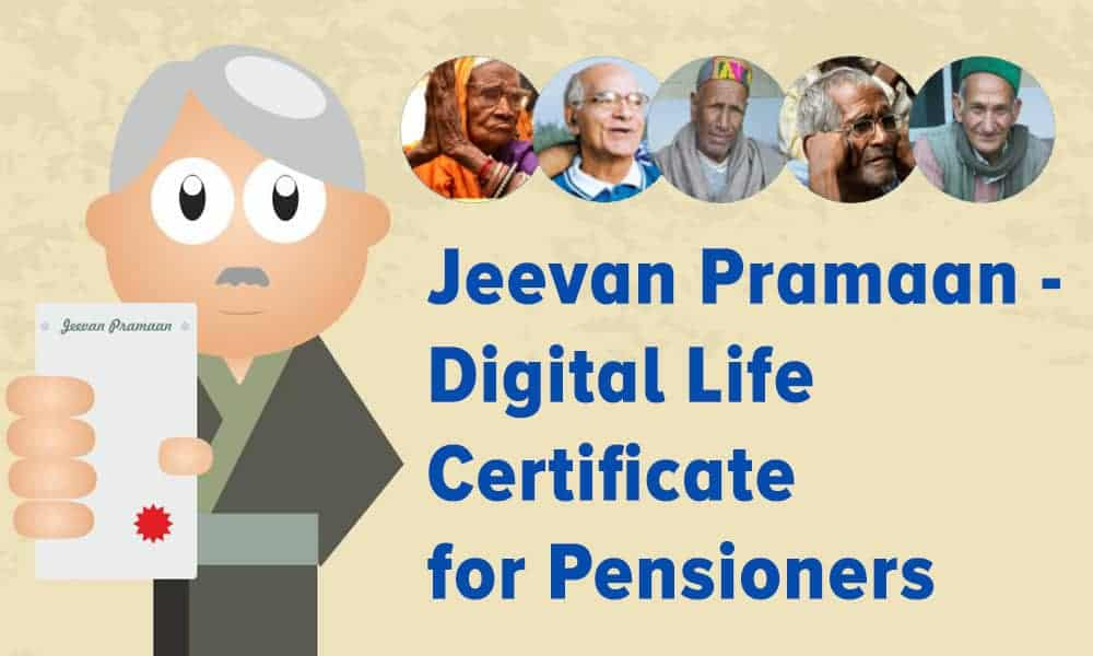 Jeevan Pramaan – Digital Life Certificate for Pensioners – Jeevan Pramaan Centre Lists