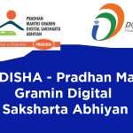 PMGDISHA – Pradhan Mantri Gramin Digital Saksharta Abhiyan