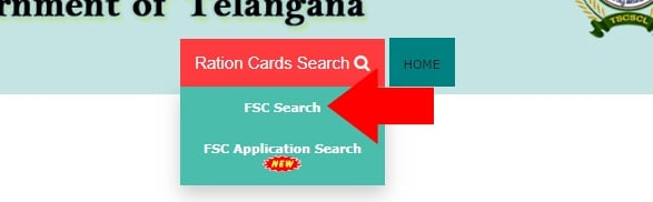 Ration Card Search EPDS Telangana