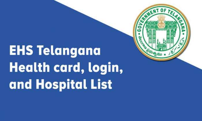 EHS Telangana Health card