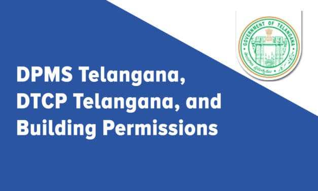 DPMS Telangana, DTCP Telangana, and Building Permissions