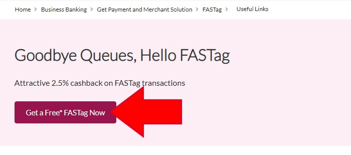 Buy Axis FASTag Online