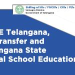 CDSE Telangana, TS Transfer and Telangana State Portal School Education