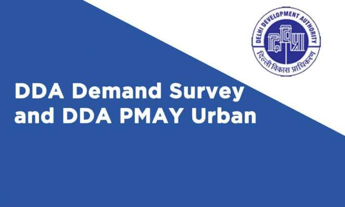 DDA Demand Survey DDA PMAY Urban