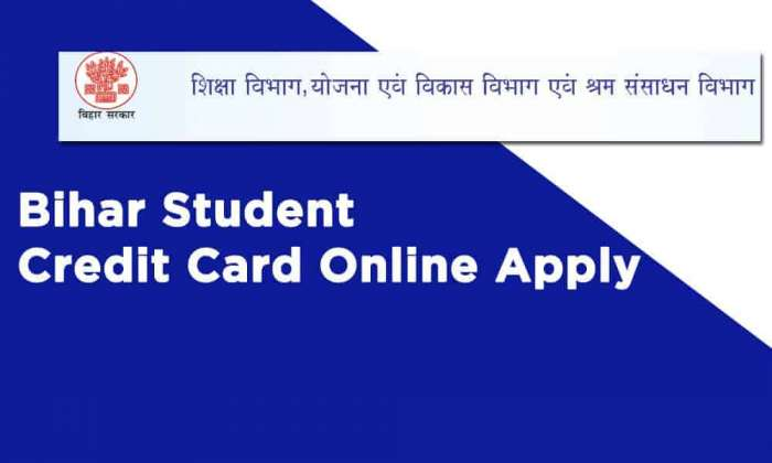 Bihar Student Credit Card Online Apply
