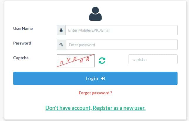 Voter ID Login Register Online