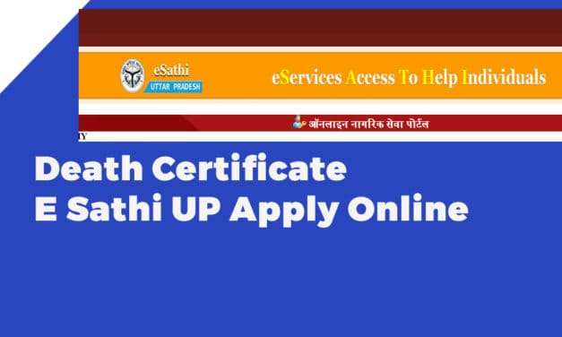 Death Certificate E Sathi UP Apply Online