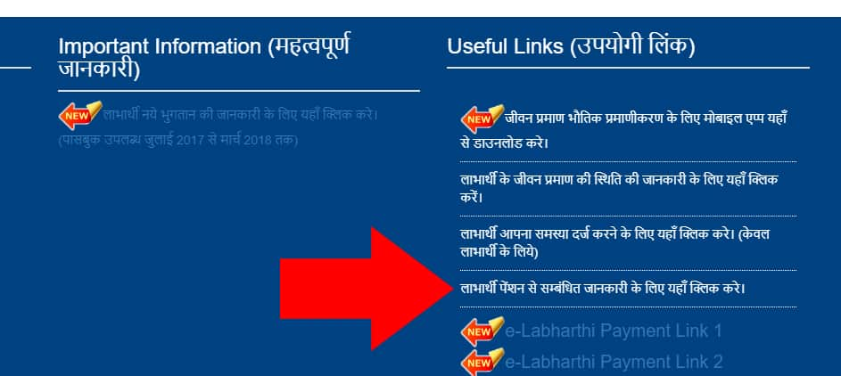 Bihar Pension Payment Status
