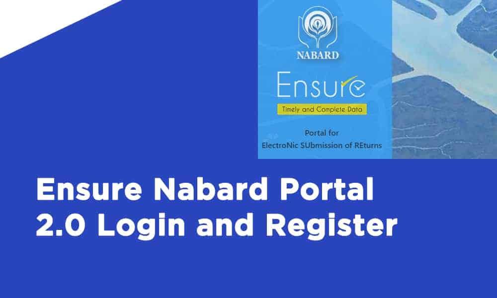 Ensure Nabard Portal 2.0 Login and Register