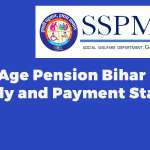 Old Age Pension Bihar Apply and Payment Status