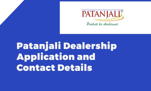 Patanjali Dealership Application and Contact Details