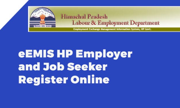 eEMIS HP Employer and Job Seeker Register Online