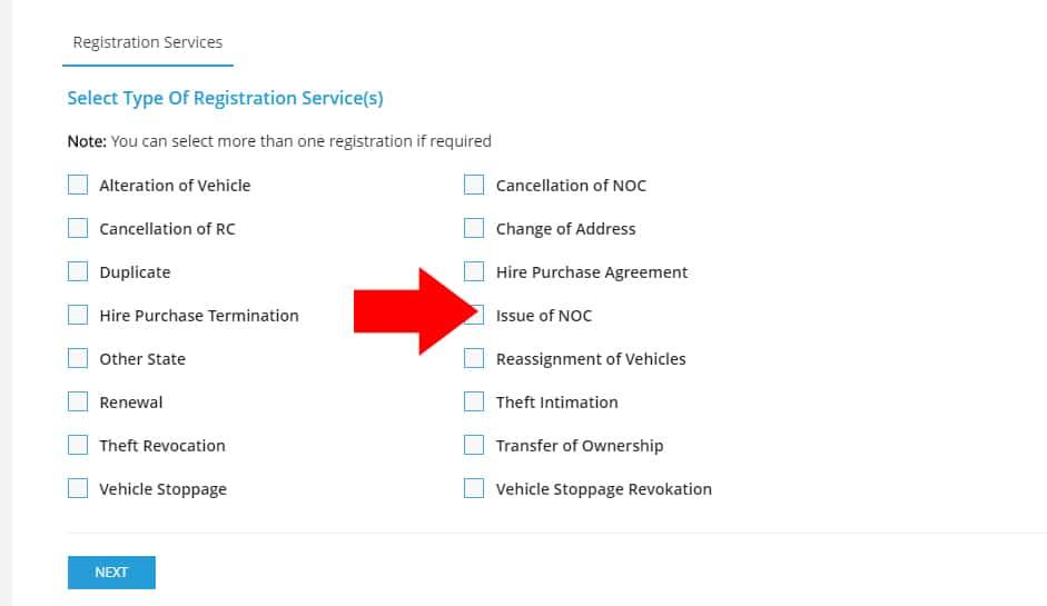 AP Vehicle NOC Apply Online