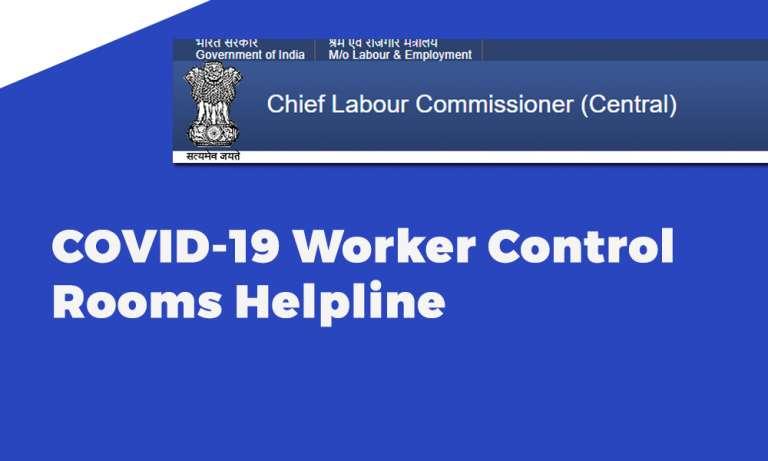 COVID-19 Worker Control Rooms Helpline