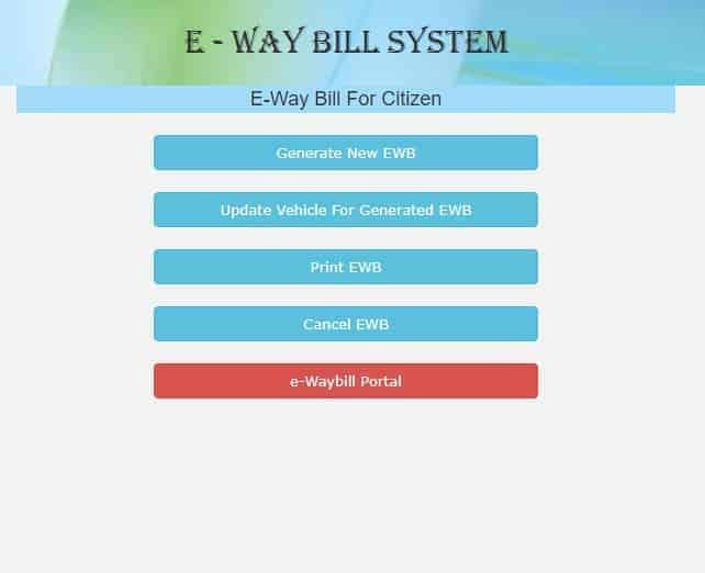 AWB Citizen E Way bill