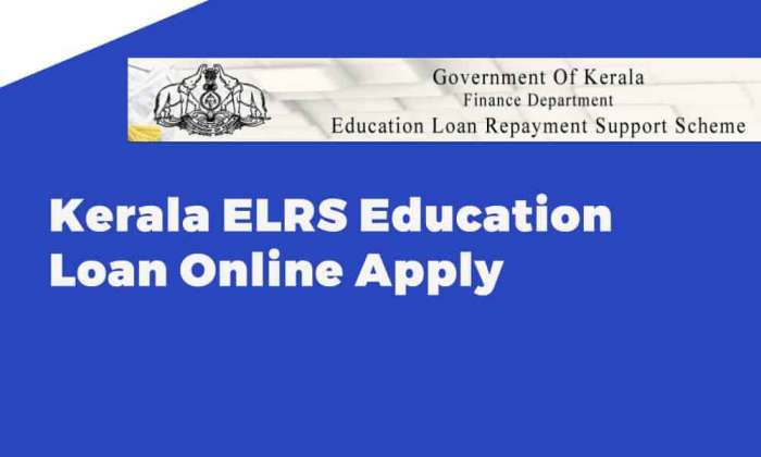 Kerala ELRS Education Loan Online Apply