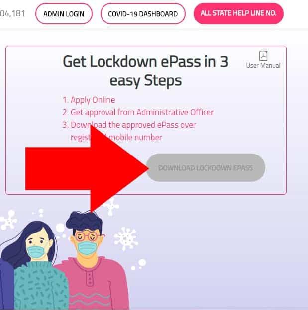 Madhya Pradesh Lockdown ePass Application Status COVID-19