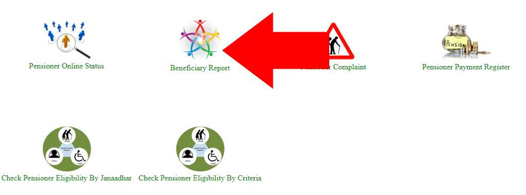 Rajasthan Old Age Pension Beneficiary list