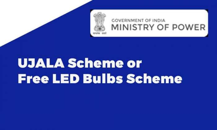 UJALA Scheme or Free LED Bulbs Scheme