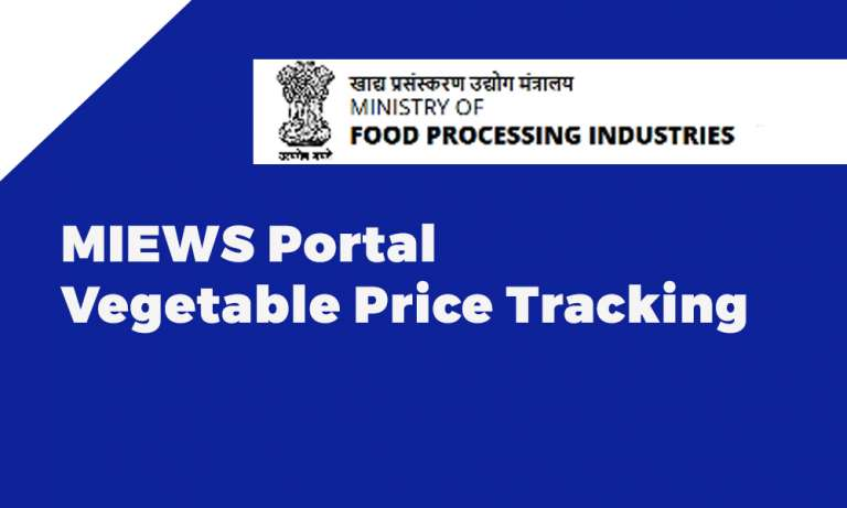 MIEWS Vegetable Price Tracking Portal