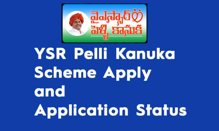YSR Pelli Kanuka Scheme Apply