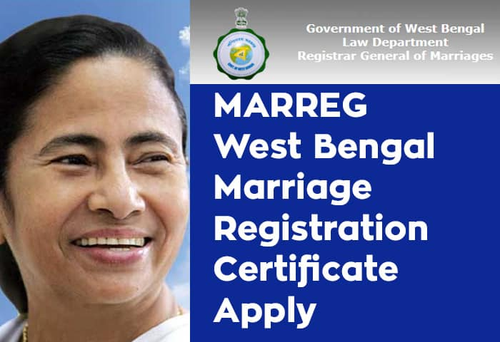 MARREG West Bengal Marriage Registration Certificate