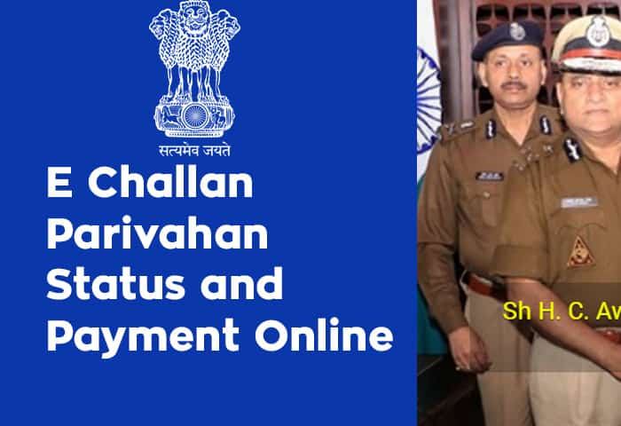 E Challan Parivahan Status and Payment Online