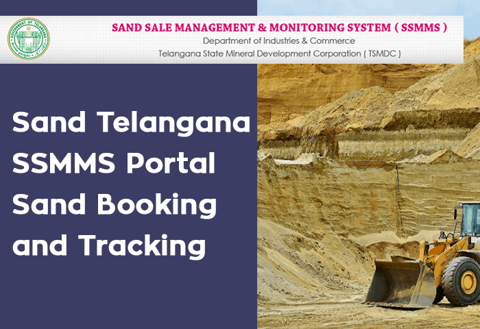 Sand Telangana SSMMS Portal