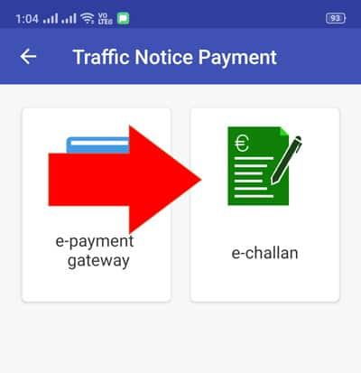 Tatpar Delhi E Challan Payment Online
