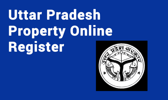 Uttar Pradesh Property Online Register
